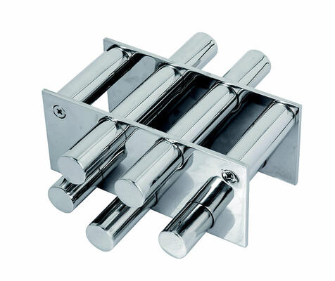 Double Row Magnetic Grate without Diverters