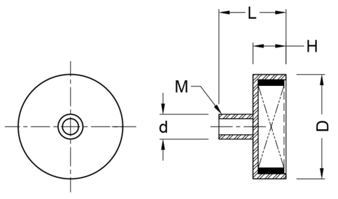 Round Base Assembly Schematic